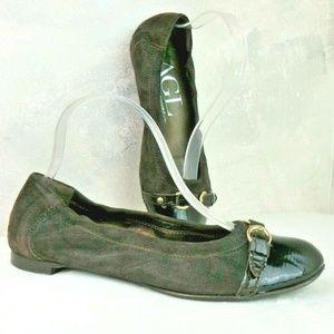 AGL Attilio Giusti Leombruni Ballet Flats Patent